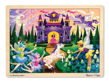 Fairy Fantasy Wooden Jigsaw Puzzle (48 pieces)