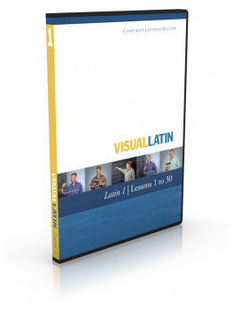 Visual Latin 1 - Lessons 1 to 30 DVD