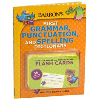 Barron's First Grammar, Punctuation, and Spelling Dictionary