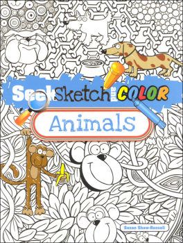 Seek, Sketch and Color: Animals