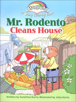 Storyland: Mr. Rodento Cleans House Coloring Book