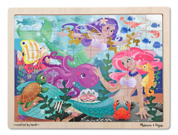 "Mermaid ""Fantasea"" Wooden Jigsaw Puzzle (48 pieces)"