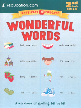 Wonderful Words Workbook
