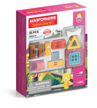 Magformers - Maggy's House (33 Piece Set)