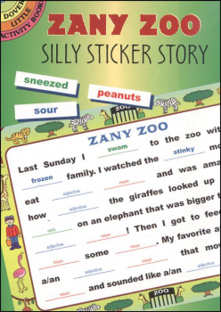 Zany Zoo Silly Sticker Story