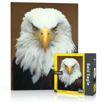 Bald Eagle Mini Puzzle (100 piece)