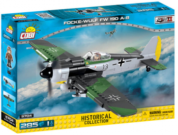 Focke-Wulf FW 190A-8 - 300 pieces (Small Army World War II Planes)
