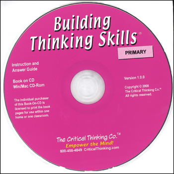 Building Thinking Skills Primary Teacher CD