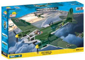 Heinkel He 111 P-4 - 610 pieces (Small Army II World War Planes)