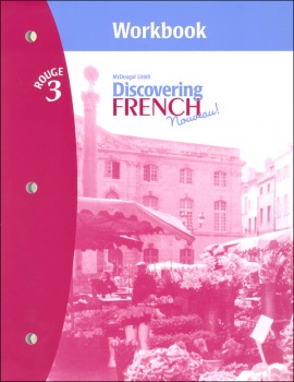 Discovering French Nouveau Workbook with Lesson Review Bookmarks Level 3