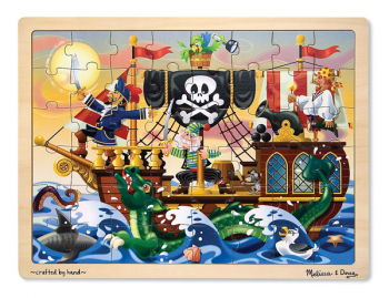 Pirate Adventure Wooden Jigsaw Puzzle (48 pieces)