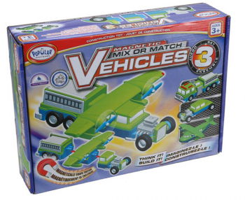 Magnetic Mix or Match Vehicles Set 3