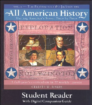 All American History Volume 1 Student Reader with Digital Companion Guide
