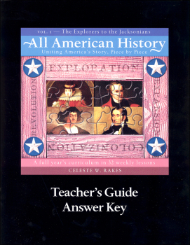 All American History Volume 1 Teacher Guide and Answer Key