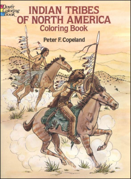 Indian Tribes of North America Coloring Book