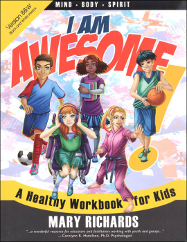 I Am Awesome: A Healthy Workbook for Kids (Black and White Version)