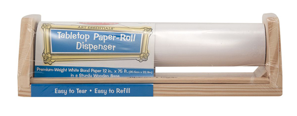 Tabletop Paper-Roll Dispenser