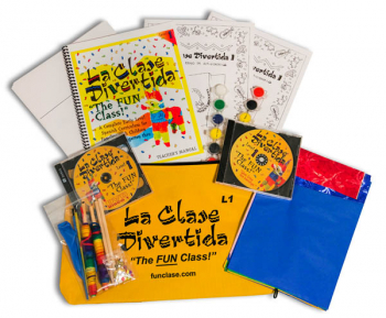 La Clase Divertida Level I Curriculum Kit