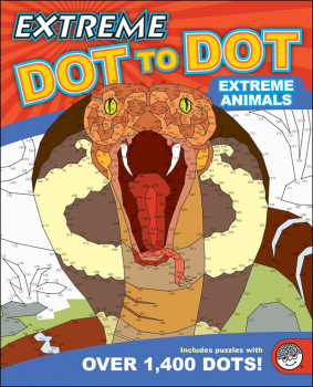 Extreme Dot to Dot Book - Extreme Animals