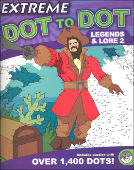 Extreme Dot to Dot Book - Legends & Lore 2