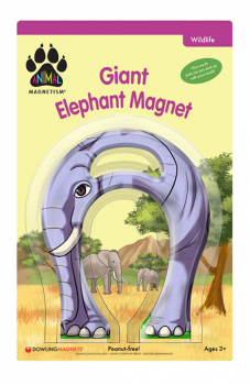 Giant Elephant Magnet (Animal Magnetism)
