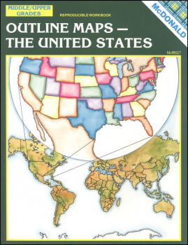 Outline Maps - The U.S.
