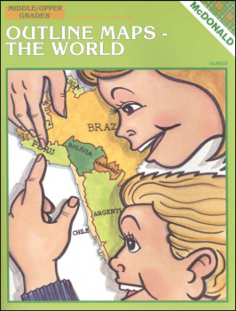Outline Maps - The World