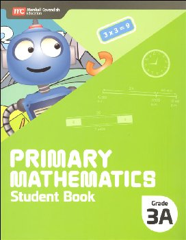 Primary Mathematics Student Book 3A (Revised edition - 2022 Edition)