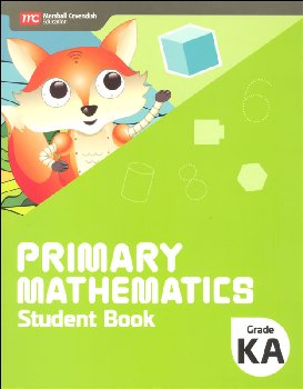 Primary Mathematics Student Book Kindergarten A