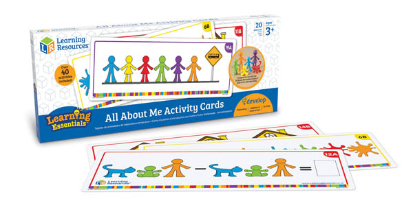 All About Me Activity Cards
