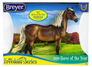 Breyer Freedom Series 2020 Horse of the Year - Fairfax, Morgan
