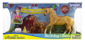 Breyer Freedom Series Birthday at the Barn