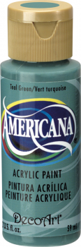 Americana Acrylic Paint 2 oz Teal Green