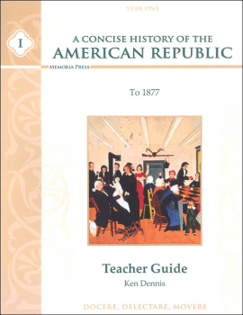 Concise History of the American Republic Year I Teacher Guide