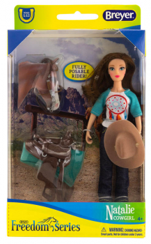 Breyer Freedom Series Natalie Cowgirl Set