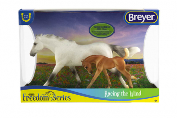 Breyer Freedom Series Racing the Wind Horse and Foal Set