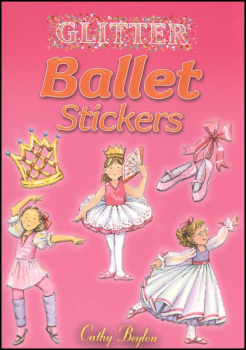 Glitter Ballet Small Format Stickers