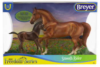 Breyer Freedom Series Smooth Rider Horse and Foal Set