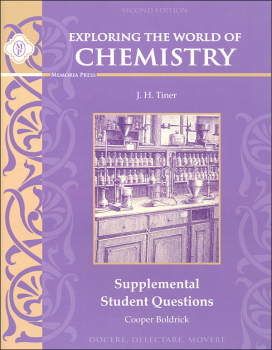 Exploring the World of Chemistry: Supplemental Student Questions, Second Edition