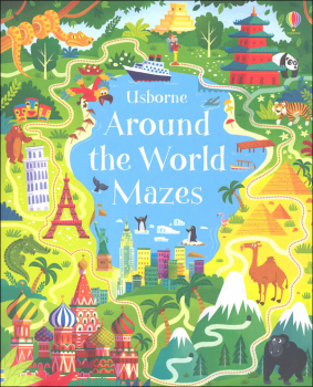 Around the World Mazes (Usborne)