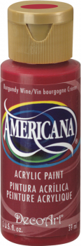 Americana Acrylic Paint 2 oz Burgandy Wine