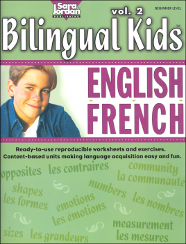 Bilingual Kids English-French Reproducible Resource Book Volume 2