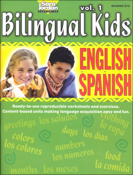 Bilingual Kids English-Spanish Reproducible Resource Book Volume 1