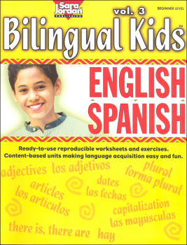 Bilingual Kids English-Spanish Reproducible Resource Book Volume 3