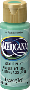 Americana Acrylic Paint 2 oz Sea Aqua