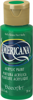 Americana Acrylic Paint 2 oz Kelly Green