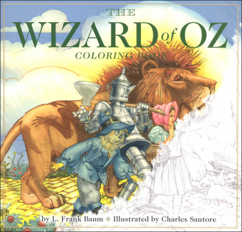 Wizard of Oz Coloring Book