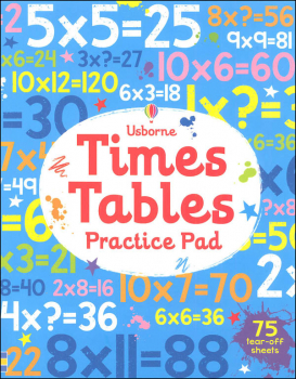 Times Tables Practice Pad (Usborne)