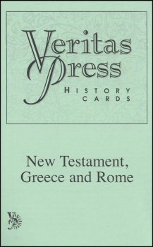 Veritas History New Testament, Greece and Rome Cards