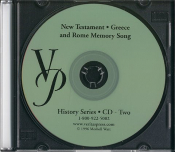 Veritas History New Testament, Greece and Rome Audio